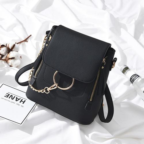 2018 New Fashion PU Leather Women Backapck Mini Women Shoulder Bags Teenager School Backpack Bag Ladies Backpacks S131