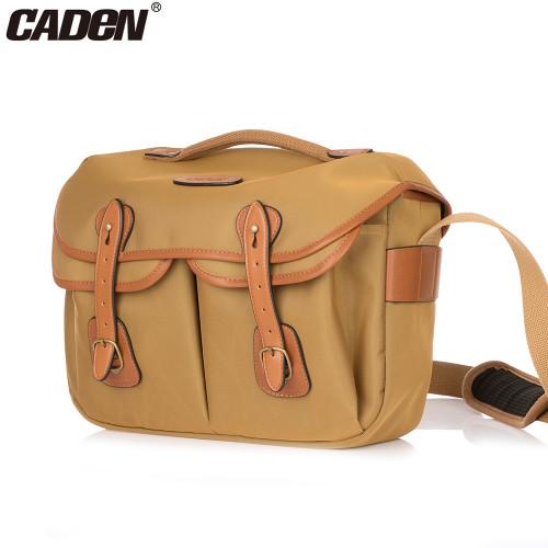 CADeN Dslr Camera Bag Vintage Sling Camera Shoulder Bags Case Croddbody bags for Canon Nikon Sony camera Messenger bag