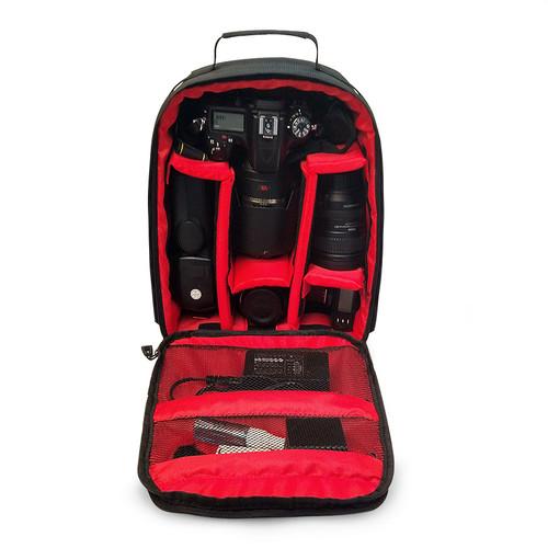 Video Photo Camera Waterproof Padded Backpack Bag Multi-functional Photography Travel Camera Bag For Canon Nikon DSLR