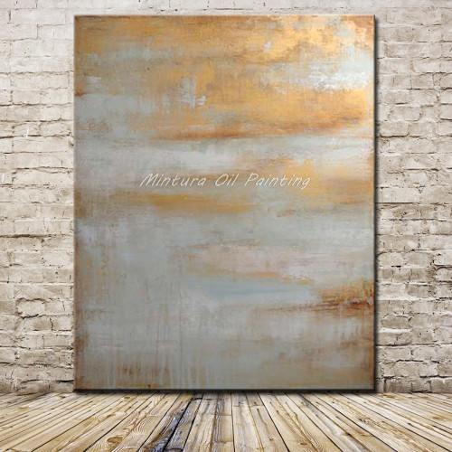 Mintura Art Hand Painted Abstract Oil Painting On Canvas Pop Art Modern Wall Pictures For Living Room Home Decoration No Framed