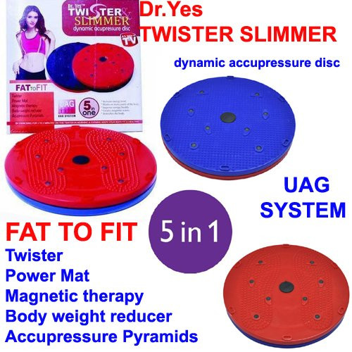 A To Z Sales Dr.Yes Twister Slimmer dynamic accupressure disc 5 in 1 (Twister Slimmer)