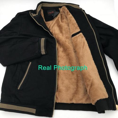 LOMAIYI Men's Winter Pure Cotton Jackets Men 2018 Casual Fleece Lining Coats 4XL Mens Warm Windbreaker Male Jacket Clothes BM260