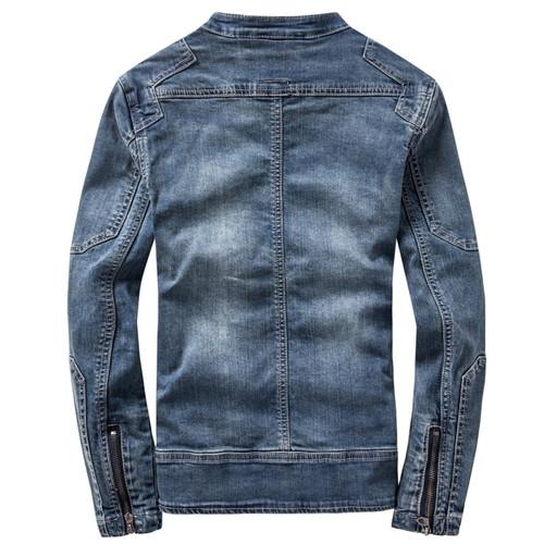 New Retro Classics Denim Jacket Men Vintage Clothes Casual Slim Jackets Men's Coat Jeans Jackets Plus Size M-3XL