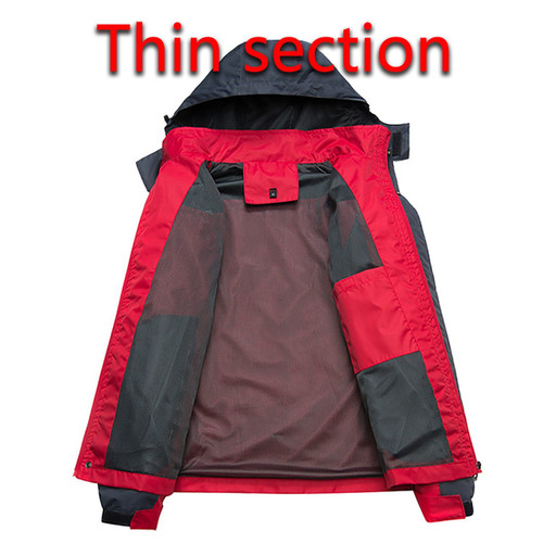 GILAG Winter Jacket Men's Parkas Thicken Fleece Hooded Coats Men's Windbreaker Casual Male Outerwear Waterproof Thermal Clothing