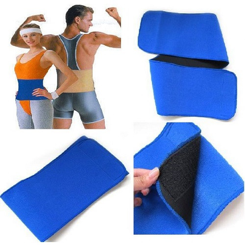 Unisex Hot Shaper Belt (Blue)