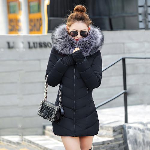 chaqueta mujer Women Down Jacket New 2018 Winter Jacket Women Thick Snow Wear Winter Coat Lady Clothing Female Jackets Parkas