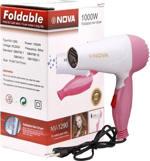 Nova Professional Hair Dryer Foldable 1000 watt NV-1290