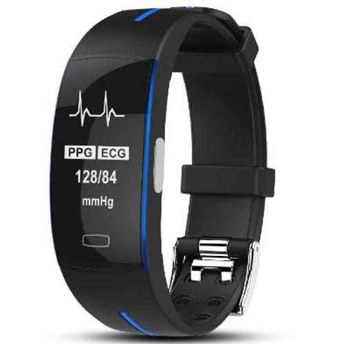 P3 Smart Wristband ECG+PPG Blood Pressure Heart rate watch smart Bracelet Fitness Tracker Smart band PK mi band 3 PK xiaomi band