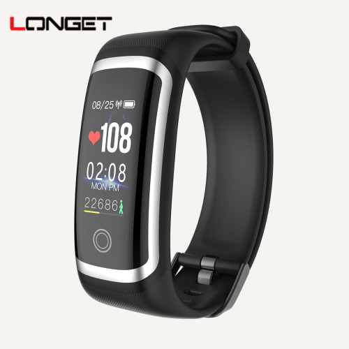 Longet M4 smart bracelet real-time Heart Rate Monitor + blood pressure PPG ECG fitness tracker Watch intelligent wristband