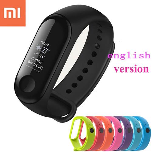 English Version!!!New original xiaomi miband 3 wristband mi band 3 Smart Bracelet android tracker xiao mi mi 3 band heart rate