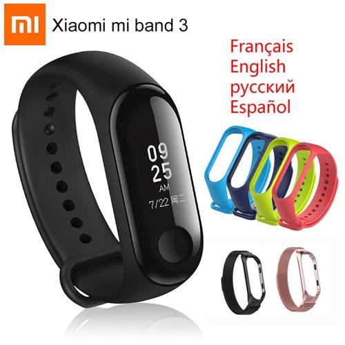 "Original Xiaomi Mi Band 3 Smart Bracelet Miband 3 Wristband Sports Fitness Activity Tracker 0.78"" OLED Touch Screen Band Mi3"