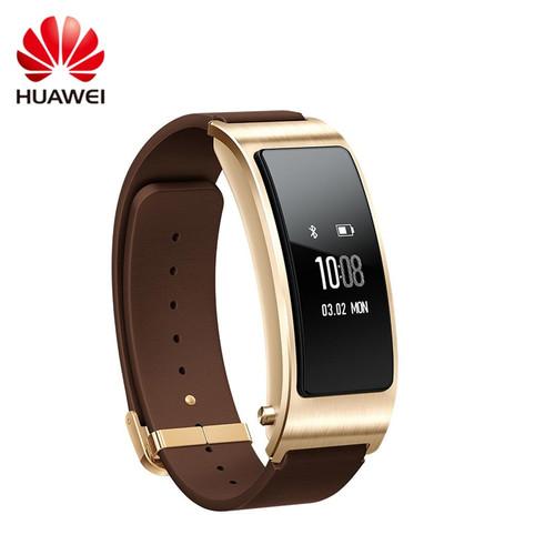 Original Huawei TalkBand B3 Talk Band Bluetooth Smart Bracelet Wearable Sports Wristbands Compatible Smart Mobile Phone Device