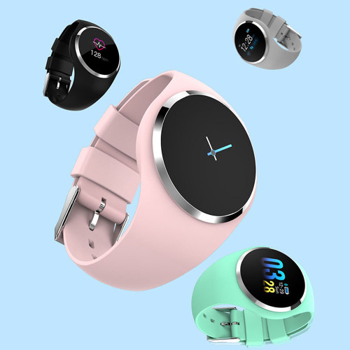 Q1 Smart Watch Life Waterproof Wearable Device Smartwatch Fitness Tracker Call Reminder Heart Rate Round Smart Watch Men Women