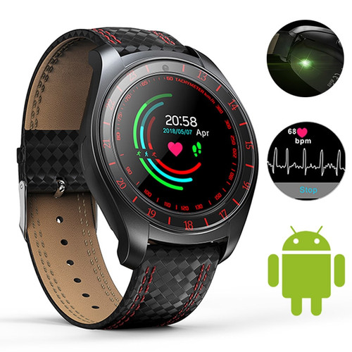 Bluetooth Smart Watch Men Heart Rate Monitor Pedometer SIM Card Camera Smart Sport Watch Connected Smartwatch For Android Phone
