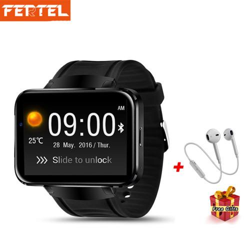 DM98 Smart Watch Men Android 3G Smartwatch Phone GPS 2.2 inch MTK6572A Dual Core SIM Card Wifi Bluetooth 4.0 Wristwatch