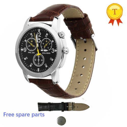 2017 real Waterproof original Smart Watch Women Men Sport Wrist Phone classic leather smartWatch support anti-lost call reminder