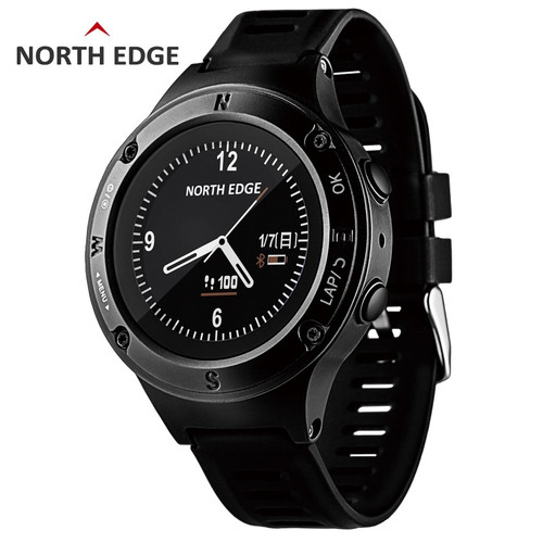 GPS Watch Smart Men Digital Watches Waterproof North Edge Sport Watch LED Compass Fourier2 Digital Wristwatches Watch Heart Rate