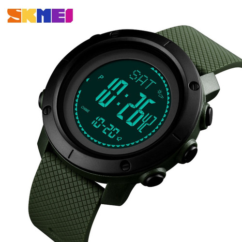 Sports Watches Men Pedometer Calories Digital Watch Women Altimeter Barometer Compass Thermometer Weather reloj hombre SKMEI