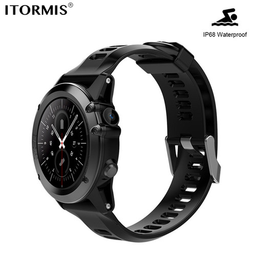 ITORMIS Android Bluetooth Smart Phone Watch SmartWatch 3G Network SIM Card Touch Screen WiFi GPS WhatsApp Men Women for Android
