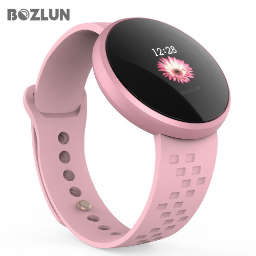 Bozlun Fashion Women Smart Digital Watch Female Period Reminder HeartRate Waterproof Watches Colories Step Beauty Wristwatch B36