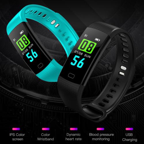 GIMTO Bluetooth Sport Smart Bracelet Women Men Children Digital Watch Waterproof Clock Heart Rate Blood Pressure For Android iOS