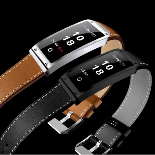 LED Touch Smart Watch Men Fashion Multifunction Bluetooth Leather Bracelet LED Fitness Sports Business Women Camera Smartwatch