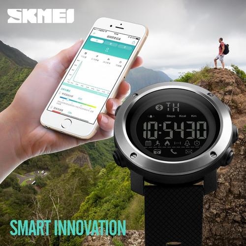 SKMEI Brand Pedometer Calorie Bluetooth Smartwatch Men Electronic Digital Sports Watches Waterproof Sport Smart Watch Men Women