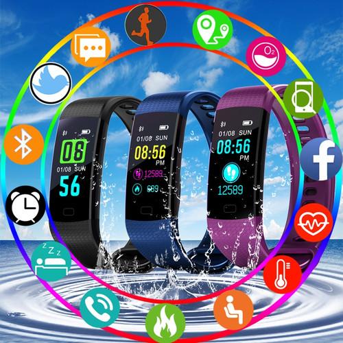 BANGWEINew Women Men Smart Watch Waterproof Sport Digital Watch Blutooth Blood Pressure Heart Rate Sleep Monitor For Android iOS