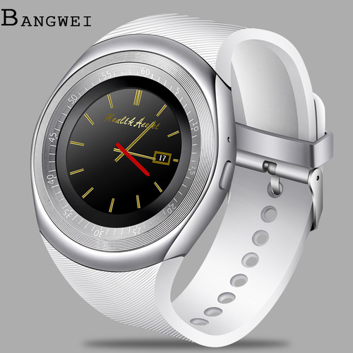 BANGWEI 2018 New Men Women Smart Digital Watch LED Clock Pedometer Fitness sport Bluetooth smart call watch relogio inteligente