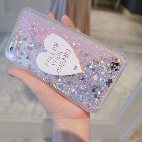 Phone Case For Xiaomi MI A1 MI A2 Cases 3D cute Love Glitter Silicone Case For Xiaomi redmi Note 5A Pro 5 Plus 5A 5X 6X Covers