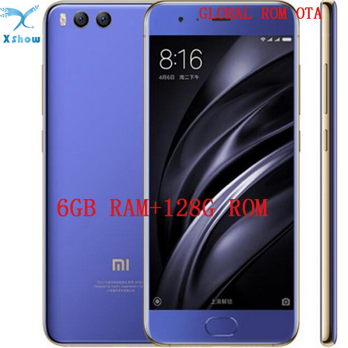 "global rom Xiaomi Mi6 Mi 6 PRO Snapdragon 835 Octa Core Smartphone 6GB 128GB Fingerprint ID FDD 12MP 5.15"" 1080P cellphone"