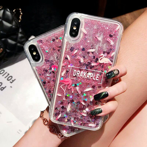Coque sFor Huawei Honor 9 Lite Glitter Liquid Quicksand Flamingo Phone Case on for Fundas Huawei Honor 9 Lite Case Cover Pouzdro