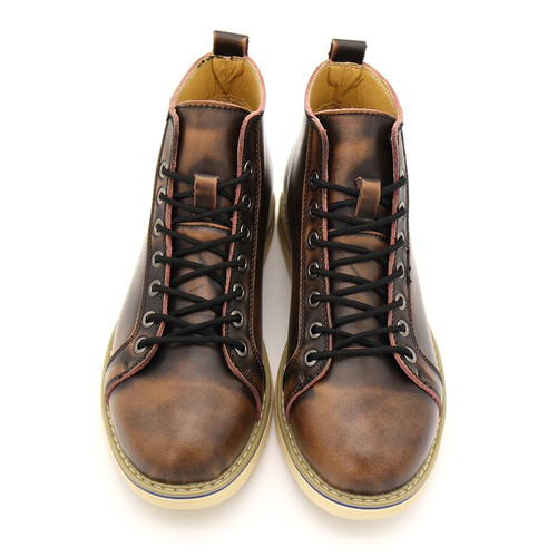 New Fashion Mens Leather Shoes Waterproof Men Boots Quality Autumn Ankle Boots Martin Boot Men British Casual Shoes