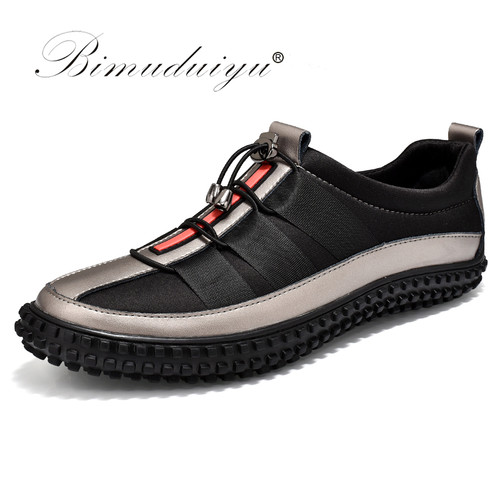 Imported Luxury Brand Hot Sales Casual Shoes For Men Autumn Fashion Light Breathable Male Shoes Men Leather Sneakers Flat Shoes