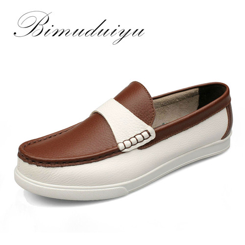 Imported Spring New Male Casual Loafers Leisure Classic Stylish Comfortable Carrefour Men's Slip-on Shoes Daily Driving Shoes