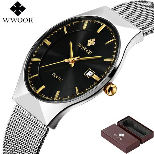 Brand Luxury Men's Watch Date 50m Waterproof Ultra Thin Clock Male Casual Quartz Watches Men Wrist Sport Watch