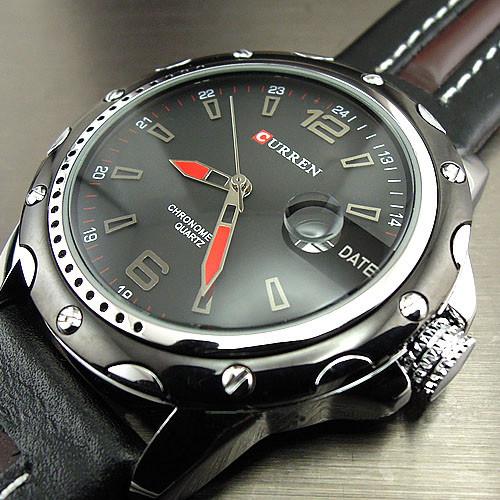 Top Luxury Brand CURREN Watches Men Fashion Casual Quartz Hour Date Clock Leather Strap Man Sports Wristwatch Relogio Masculino