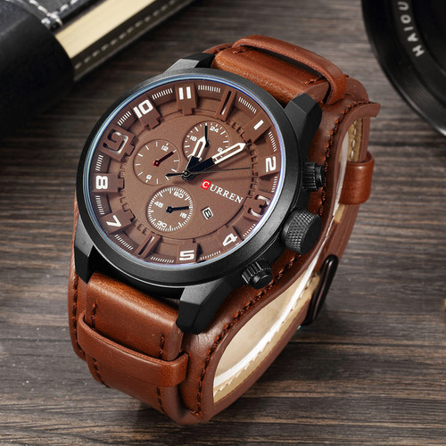 CURREN Watches Men Watch Luxury Brand Analog Men Military Watch Reloj Hombre Whatch Men Quartz Curren Male Sports Watches 8225