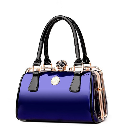 Famous Designer Big Women Handbag Patent Leather Shoulder Bags High Quality Diamonds Ladies Large Capacity Tote Crossbody Bags