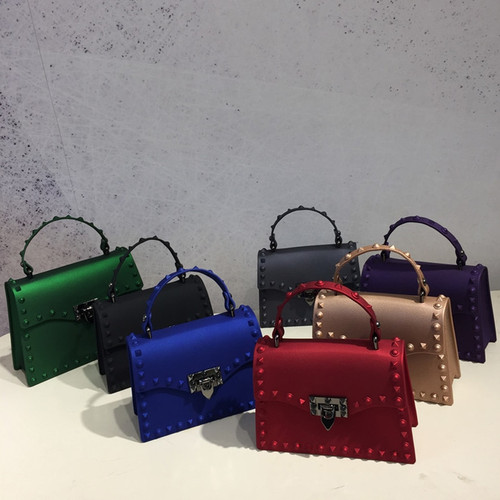 2018 Brand Women Messenger Bags Luxury Handbags Women Bags Designer Jelly Bag Fashion Shoulder Bag Women PVC Leather Handbags