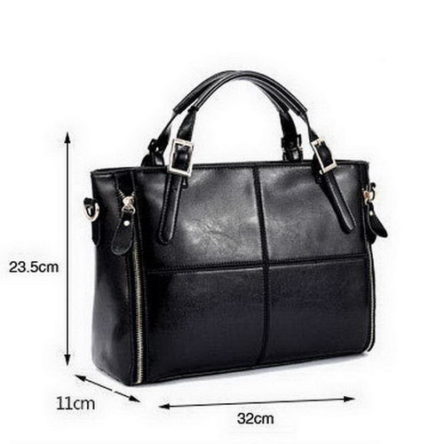 Female Fashion Patchwork Top-handle Bags Designer Cattle Split Leather Bags Women Handbag Brand Ladies Shoulder Bags #13To31/9