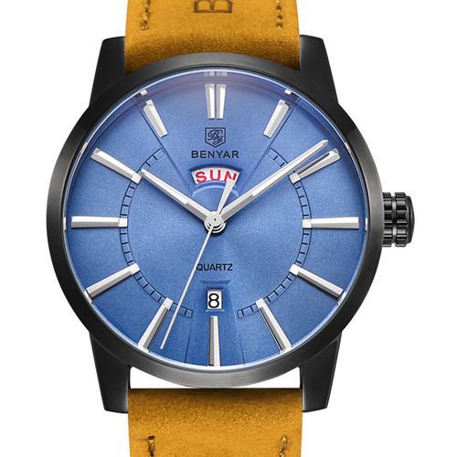 BENYAR Wrist Watch Men Watches Top Brand Luxury Popular Famous Male Clock Quartz Watch Business Quartz Watch Relogio Masculino