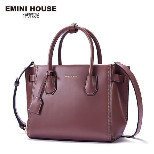EMINI HOUSE Fashion Handbag Luxury Handbags Women Bags Designer Split Leather Crossbody Bags For Women Messenger Bag
