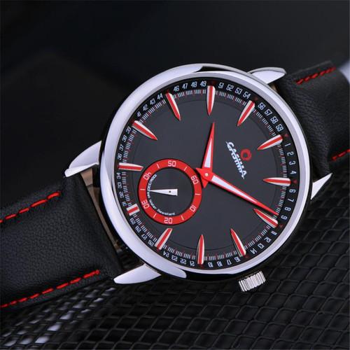 2017 NEW Fashion CASIMA 8304 Men Sport Men's Watch Multi-function Calendar Luminous Quartz Watch L8293
