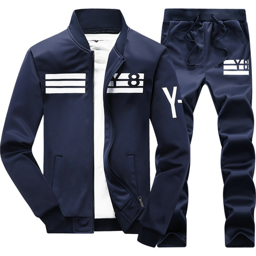 Sportwear Pants 2016 New Autumn Tracksuit Man Men Fashion brand Tracksuits Outwear Set 2 pieces Sportswear