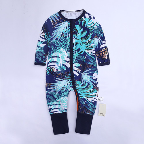 XH-374 Baby rompers spring autumn cotton long sleeve jumpsuit newborn girls boys clothing infant rompers toddler bebe clothes