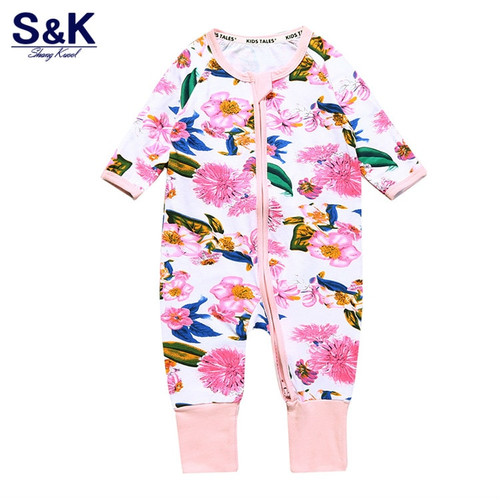 2018 Baby Overalls Autumn Children's Clothing Baby Overalls Newborn Girls Clothes for Children One Piece Overalls Pajamas XH-235