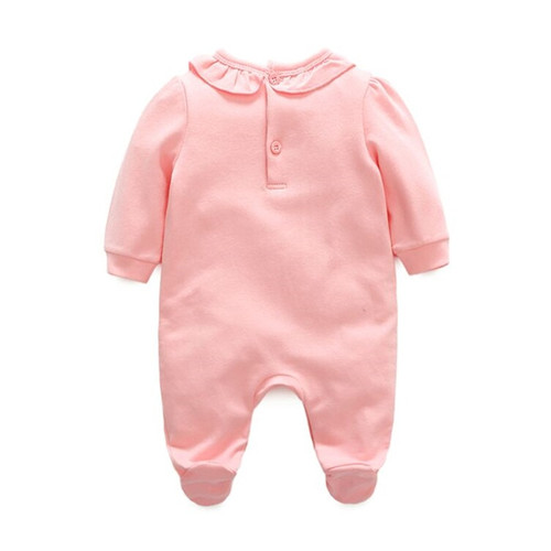 Girls Baby Romper Princess Baby Girl Clothes Autumn Winter Cotton Lace Rompers Hats for Newborns Baby Clothing Infant Jumpsuit