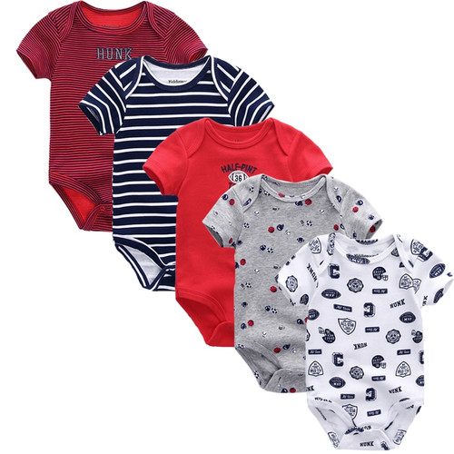 2018 Summer cotton Baby Rompers Toddler Jumpsuit spring  Baby Girls boys New born clothes bebe overall clothes baby clothing