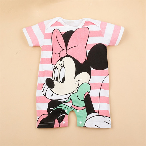 Top Sellings Cartoon Baby Clothes Short Sleeve MAGUAYESHI Cotton Baby Girl Clothes 5 Styles Summer Baby Rompers Infant Jumpsuits